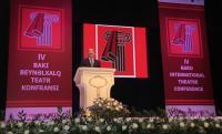 IV Бакинская международная театральная конференция